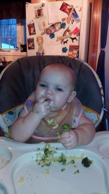 charlierose 8 mois macaroni