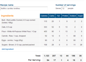 carottes lentilles