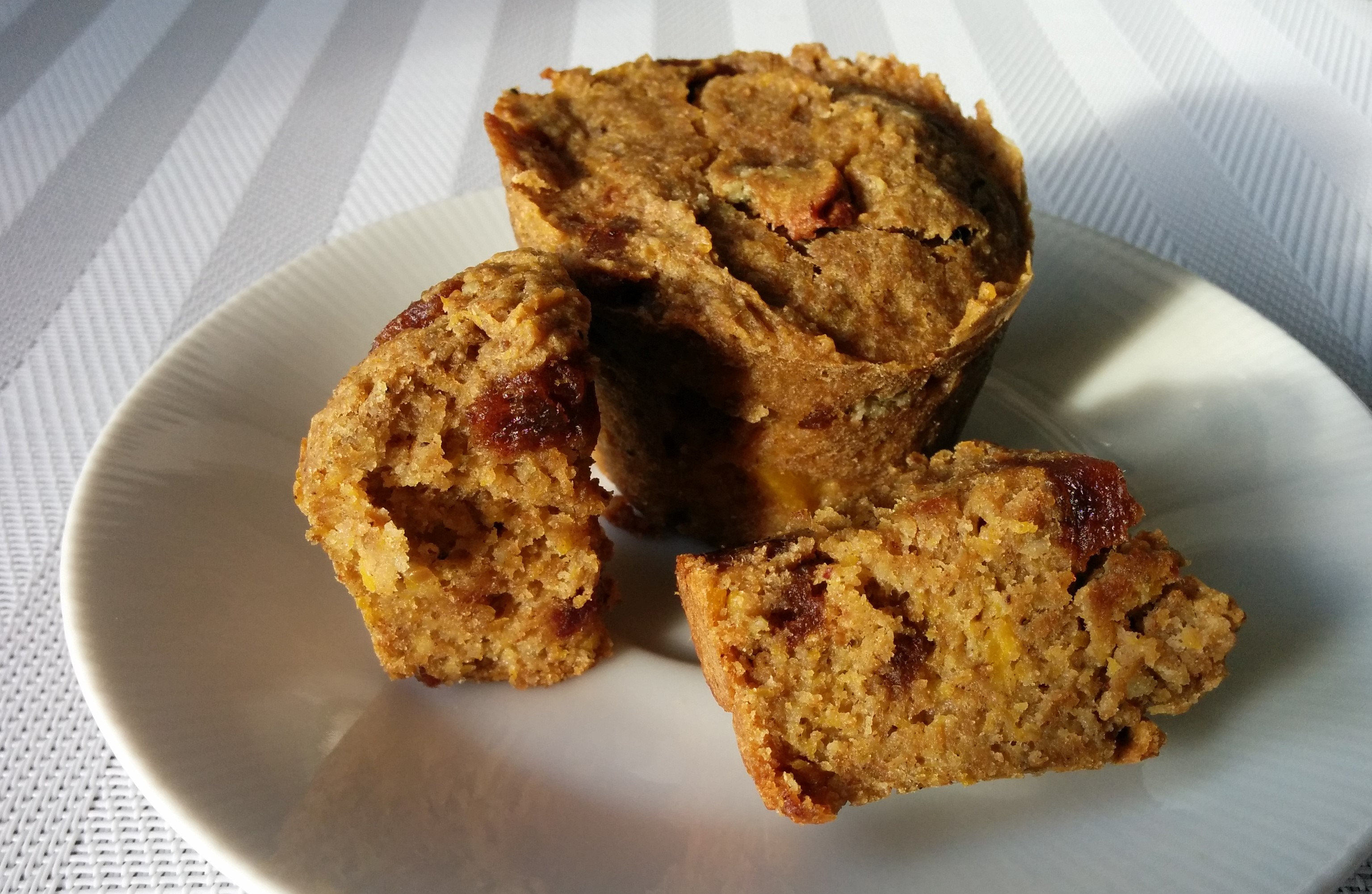 muffins courge-datte