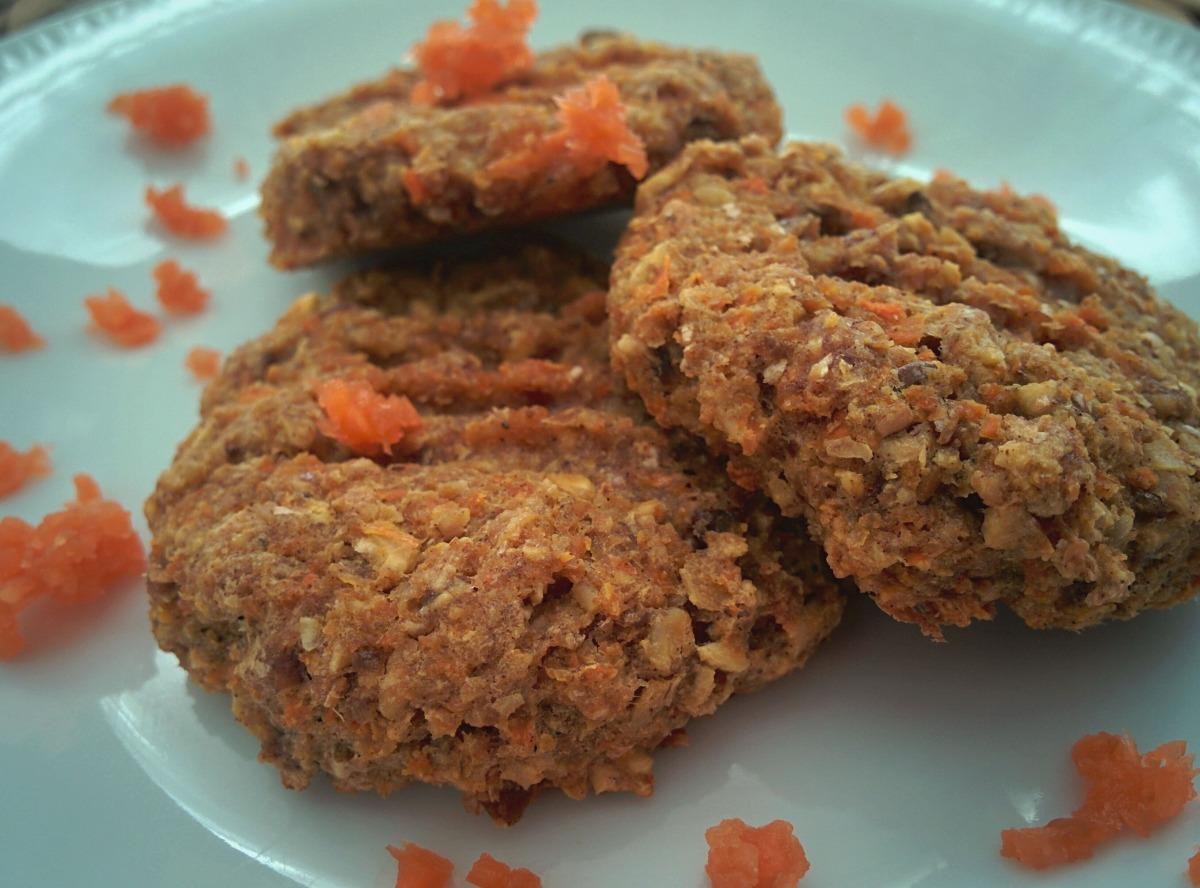 Biscuits aux carottes pour Pâques